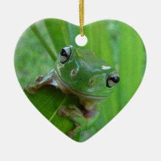 Small Frog Ceramic Ornament
