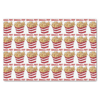 Small Fry Foodie French Fries Baby Gift Tissue Tissue Paper