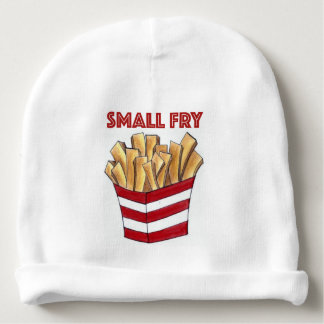 SMALL FRY Foodie French Fries Fast Food Baby Hat Baby Beanie