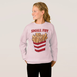 Small Fry Foodie French Fries Fast Food Sweatshirt