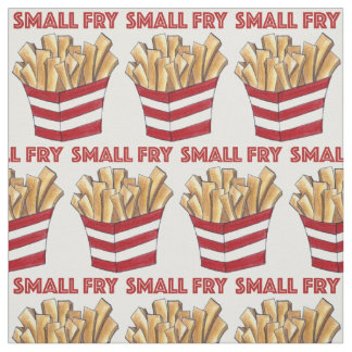 Small Fry Foodie French Fries Food Baby Fabric
