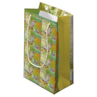 Small Glossy Pastel Hummer Gift Bag