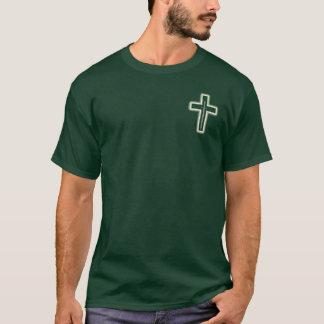 Small Glowing Cross & Sword T-Shirt