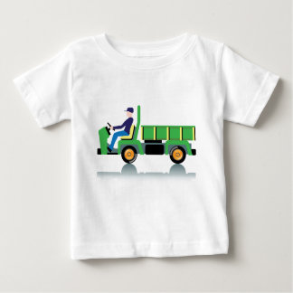 Small green utility truck tees