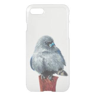 Small grey bird iPhone 8/7 case