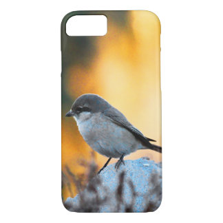 Small grey sparrow bird iPhone 7 case