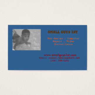 Small Guys 1st Business Card