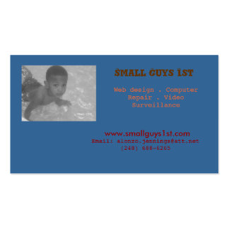 Small Guys 1st Business Cards