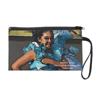 Small handbag wristlet