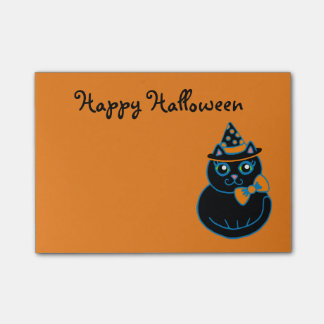 Small Happy Halloween Post It Notes