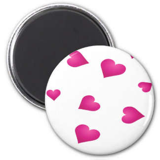 small hearts magnet