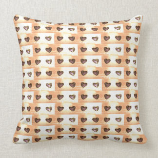 Small hearts pattern vendredi style pillow