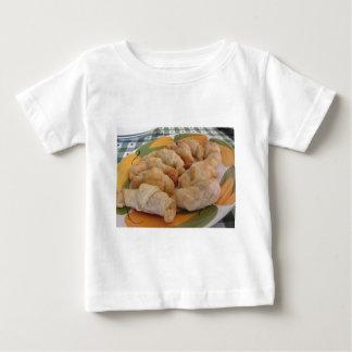 Small homemade salty croissants stuffed baby T-Shirt
