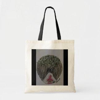 Small hood tote bag