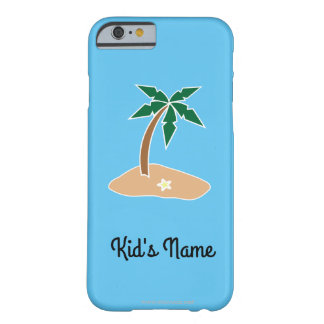 Small Island Barely There iPhone 6 Case