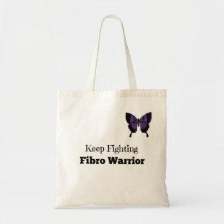 Small Keep Fighting Fibro Warrior Tote