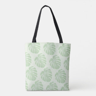 Small Leaves Tropical Tote