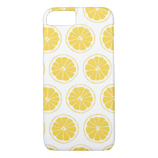 Small Lemon Slices Graphic Pattern iPhone 8/7 Case