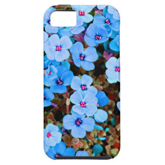 Small Lite Blue Flowers iPhone 5 Cases