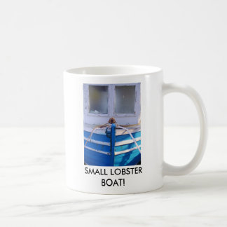 SMALL LOBSTER BOAT! BASIC WHITE MUG