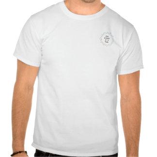 Small logo back text tshirt