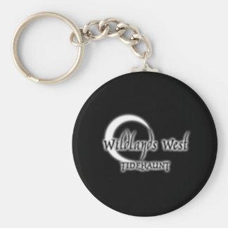 Small Logo Basic Round Button Key Ring