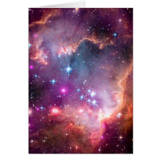 Small Magellanic Cloud Card