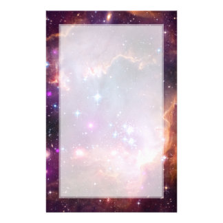 Small Magellanic Cloud Galaxy Space Stationery
