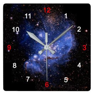 Small Magellanic Cloud Square Wall Clock