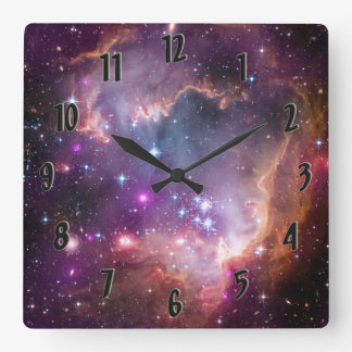 Small Magellanic Cloud Square Wall Clock