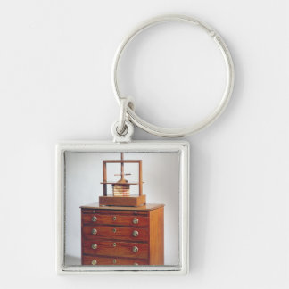Small Mahogany chest of drawers by Sheraton Key Ring