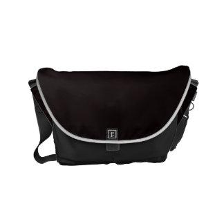 "Small Messenger Bag: ""BLACK"" Commuter Bags"