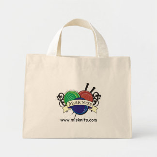 Small MisKnits tote Bag