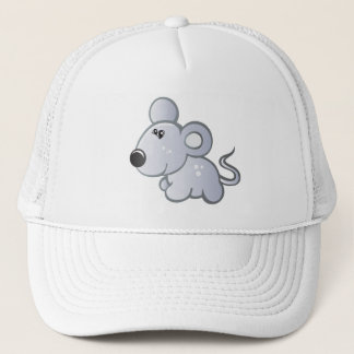 small mouse in relax Hat