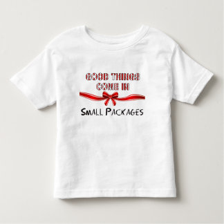 Small Packages Christmas Girl Toddlers T-Shirt
