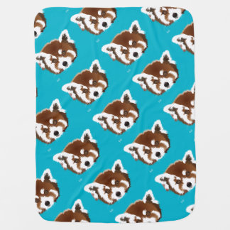 Small panda baby cover receiving blanket