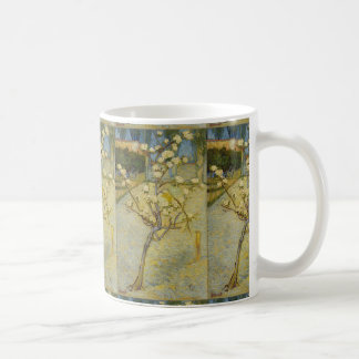 Small Pear Tree in Blossom by Vincent Van Gogh Coffee Mug
