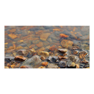 Small Pebbles in the Water Photo Cards