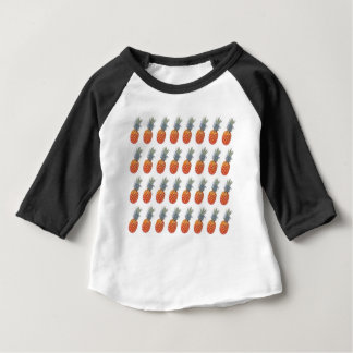 Small Pineapple Print Baby T-Shirt