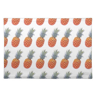 Small Pineapple Print Placemat
