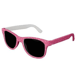 Small pink flowers sunglasses