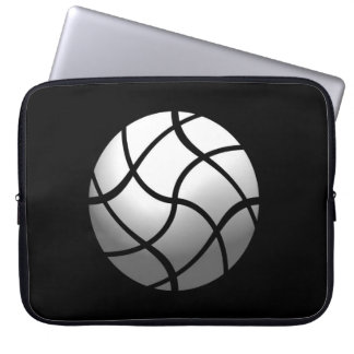 """Small pocket for computer """"Abstract ball """" Laptop Sleeves"""