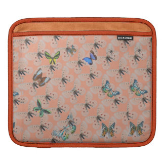 Small pocket iPad design butterfly iPad Sleeve