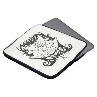 "Small pocket Tribal laptop ""Fairy "" Laptop Computer Sleeve"