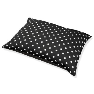 Small Polka Dots Pattern - Black and White