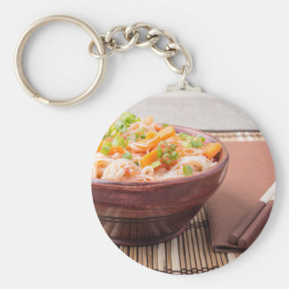 Small portion of rice vermicelli hu-teu key ring