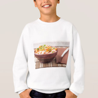 Small portion of rice vermicelli hu-teu sweatshirt