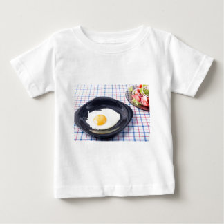Small portion of the breakfast of fried egg baby T-Shirt