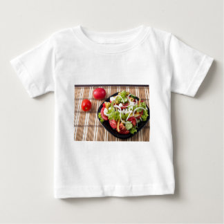 Small portion of vegetable salad of tomato baby T-Shirt