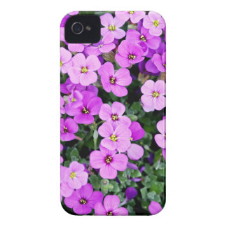 Small Purple Flowers iPhone 4 Cover